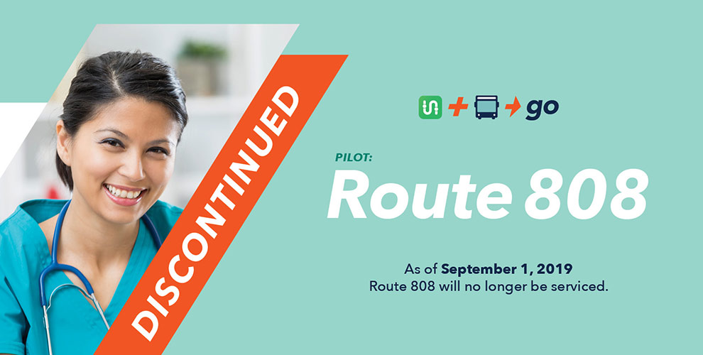 Route 808 Discontinued